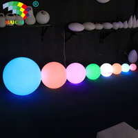 Garden decor battery operated mood ball led light christmas light up ball