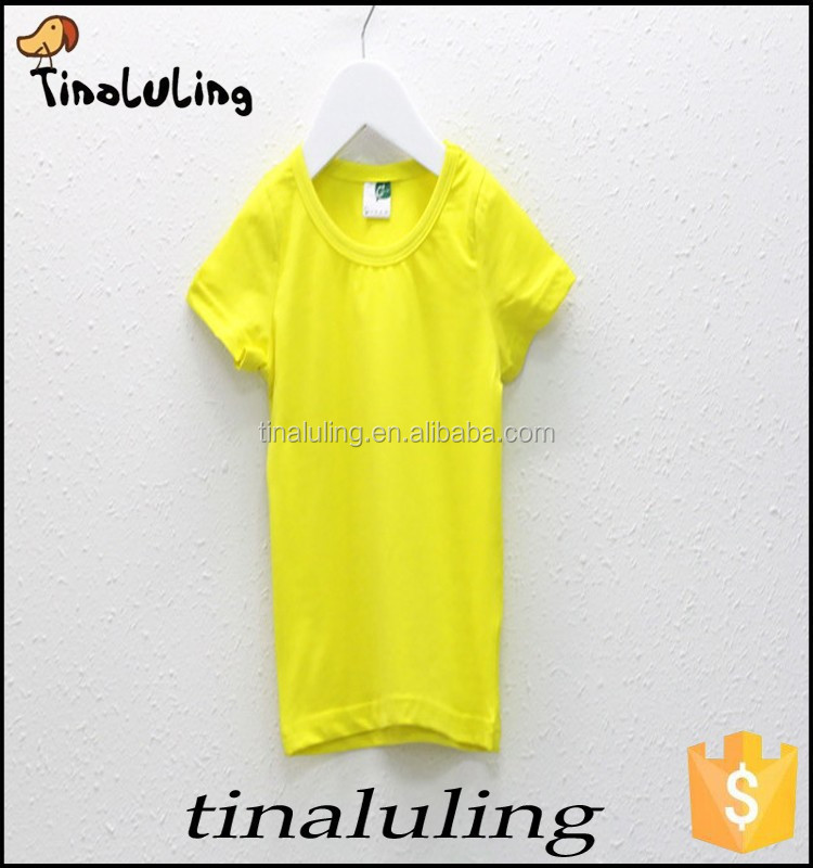 New Arrival Wholesale t shirts for OEM and ODM, children white t shirts t-shirts printing