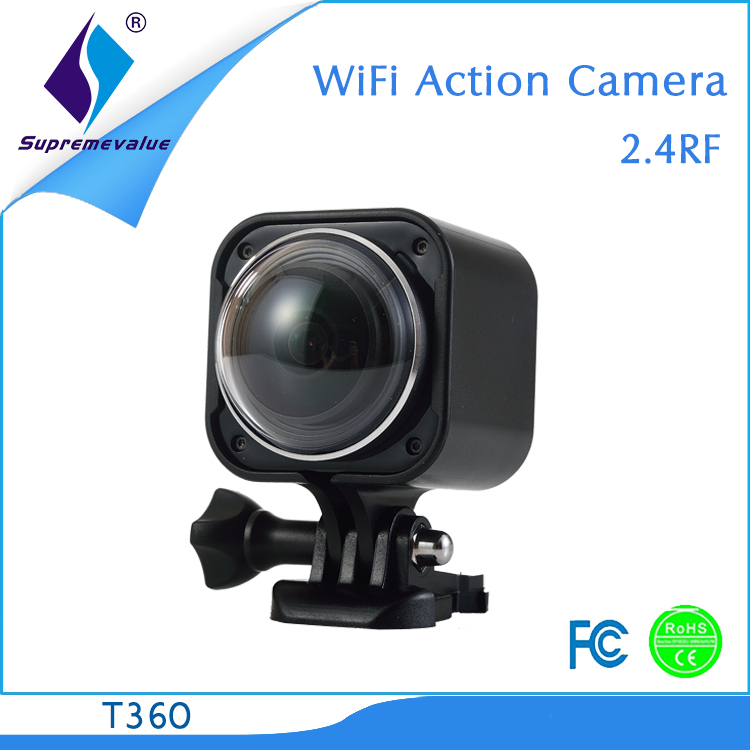 new products on china market hikvision action camera 360 degree T360 eby/amazon/express/wish