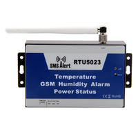 RTU5023 GSM Environment Alarm,GSM temperature humidity alarm,power status by sending SMS text message