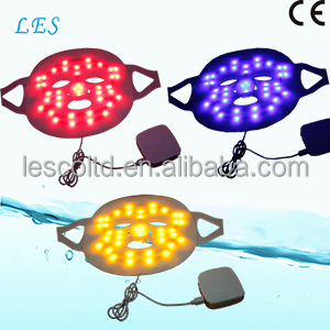 3 colors Blue Yellow Red Bio Light Facial Led Light Curing Photon Therapy Beauty Device