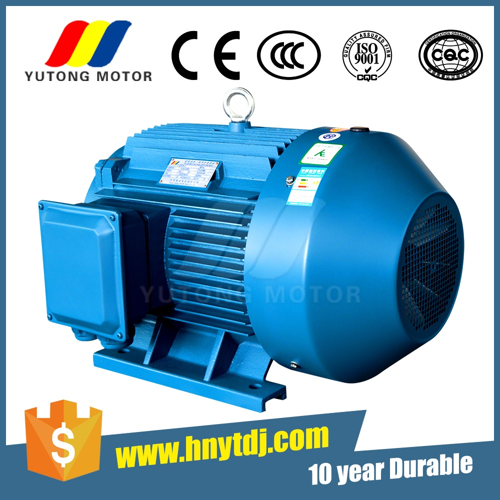 AC Three Phase Asynchronous Electric Motor 22KW 400V