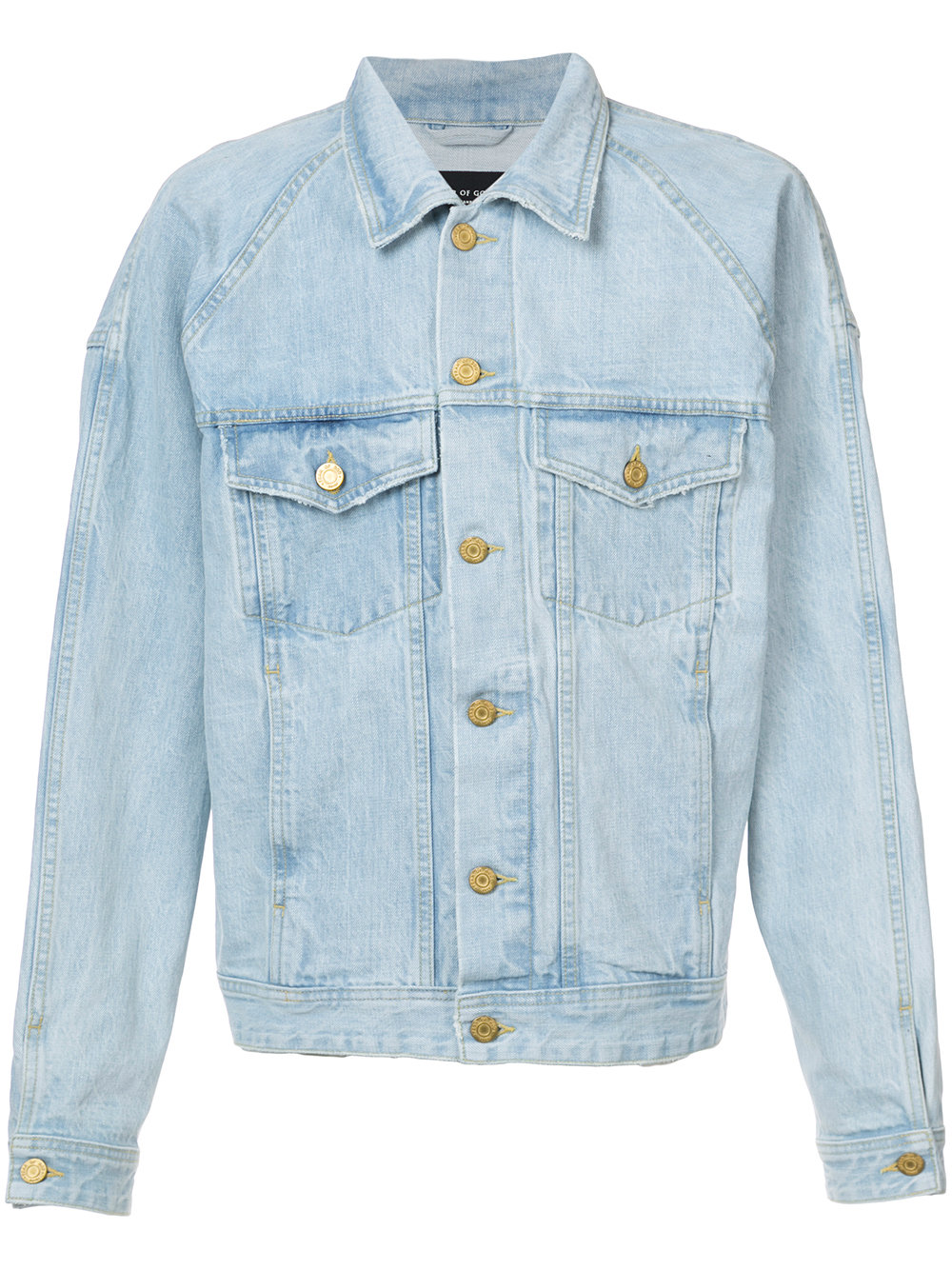 OEM designer men winter light blue jeans jacket
