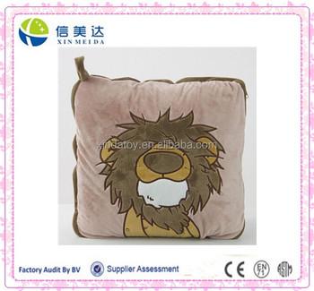 Animal Pillow Blanket Inside : Lion Pillow And Blanket Inside - Buy Big Animal Pillows,Animal Head Shaped Pillow,Plush Animal ...
