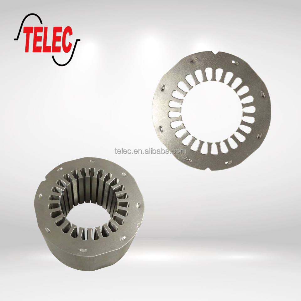 rotor and stator lamination for motors