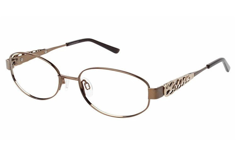 788e85b0a8938 Get Quotations · Charmant Womens Eyeglasses TI12105 TI 12105 WP White Full  Rim Optical Frame 53mm