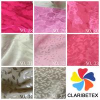 Wedding printed home textile Woven Jacquard satin Fabric