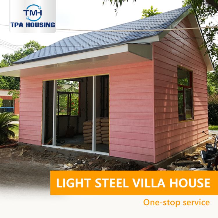 Beautiful Ready Made China Small House Plans Steel Pre Fab House Villa