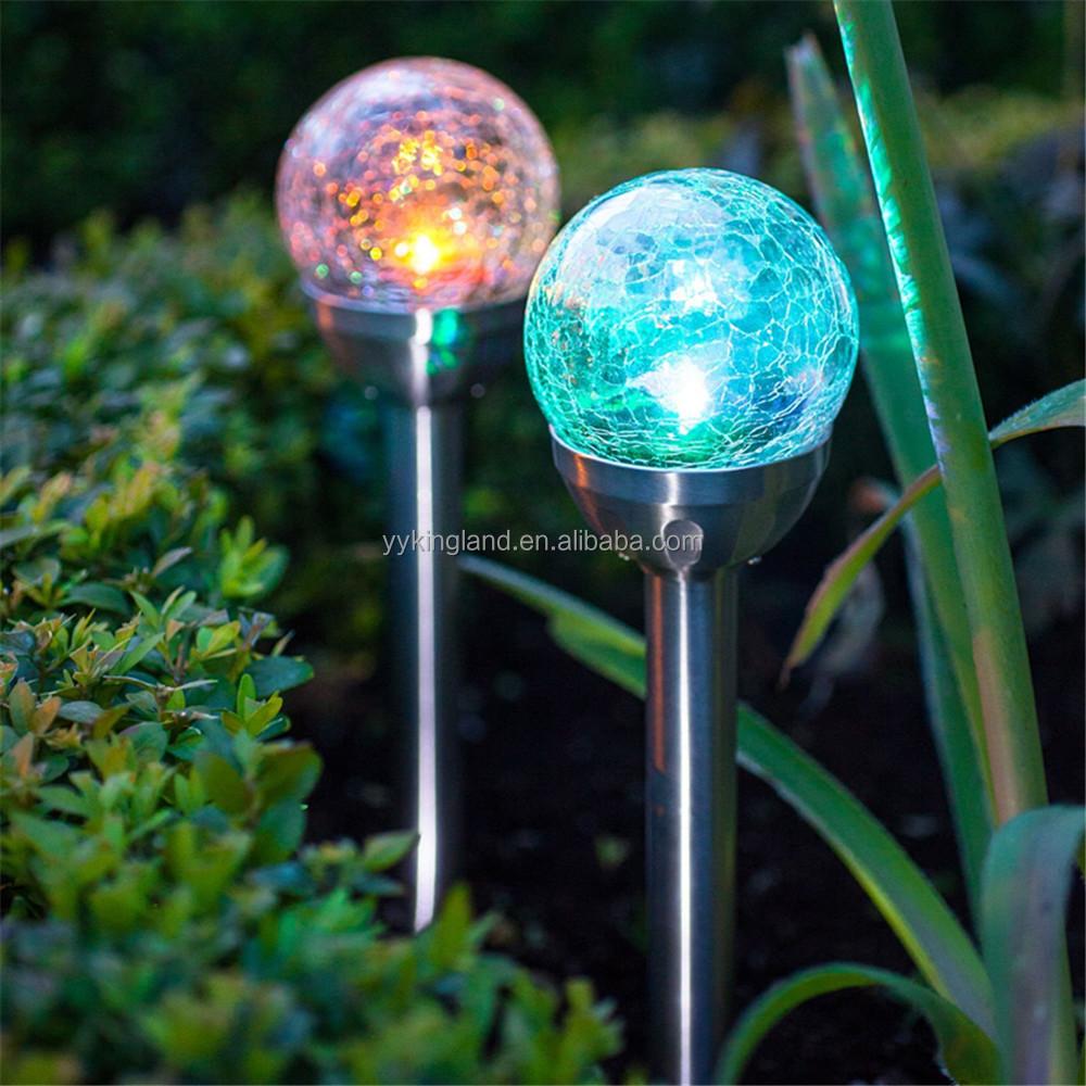 Grossiste baton de jardin boule de verre-Acheter les meilleurs baton ...