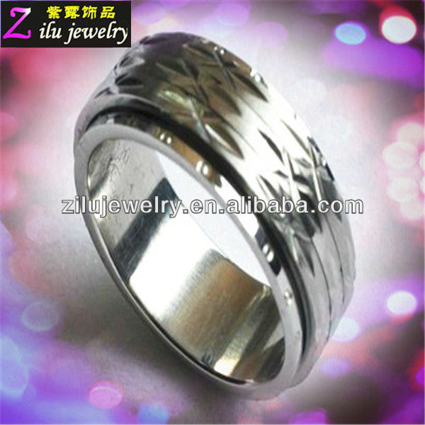 2013 hot stainless steel couple rings