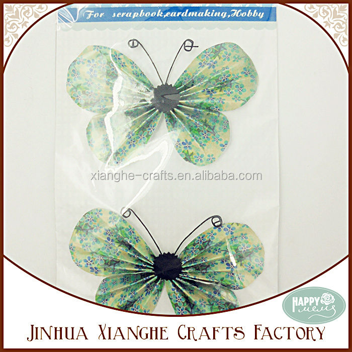 Floral Prints Origami Butterfly Paper Craft By Hand