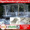 Christmas Outdoor Decorative LED Curtain Light Warm White 3*3m 600leds Christmas Light