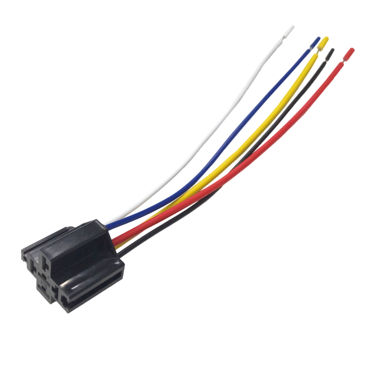 12v Dc 5 Pin Relay Socket For Bosch Type Relay