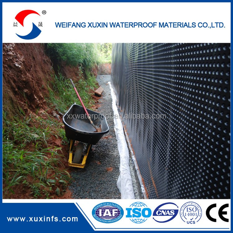 HDPE Plastic Dimple Drainage Board Sheet