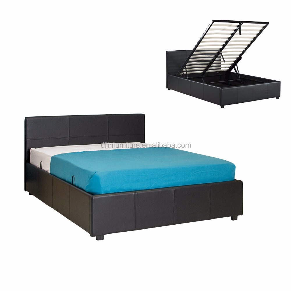 Modern Bedroom Furniture Wood Double Bed Designs With Box Buy Wood