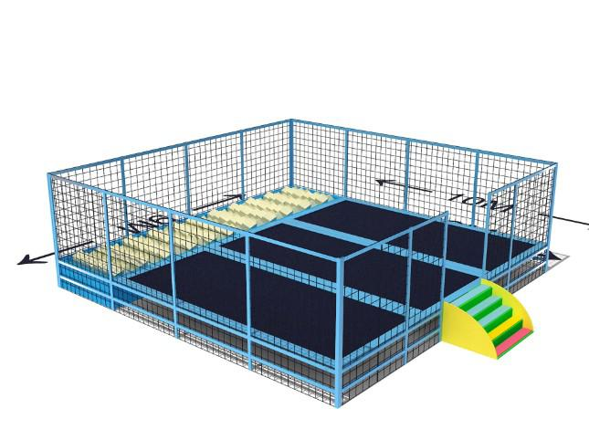 Team Activity First Choice Large Size Trampoline Cover Commercial Stable Bungee Trampoline Park