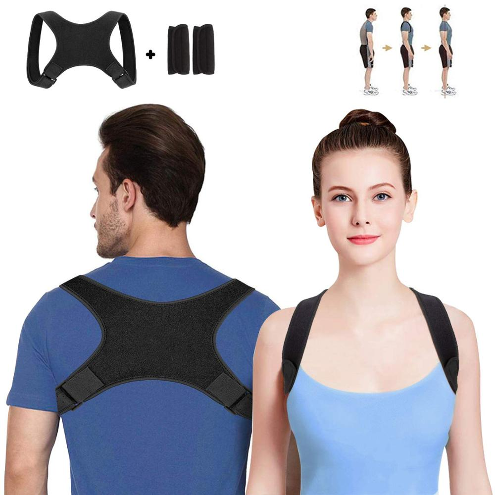 2019 new trending back support brace for back support, Black
