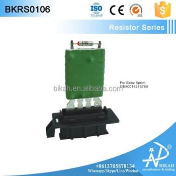heater motor blower fan resistor for b enz sprinter. Black Bedroom Furniture Sets. Home Design Ideas