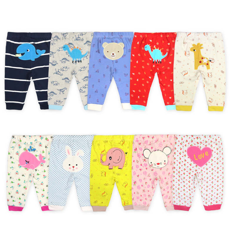 baby trousers newborn cotton embroidered knitted baby boy pants