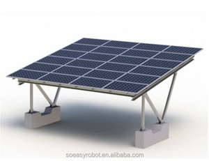 Home Solar Panel Cleaning System of Aluminum Carport for Car Parking