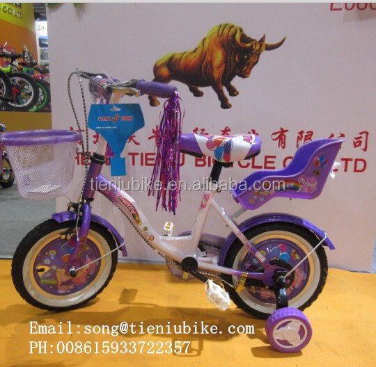 model 1511 good quality girl doll seat children bikes