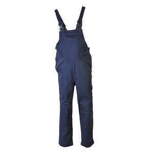Polyester Uniform Garment Mens Working Bib Pants Workwear