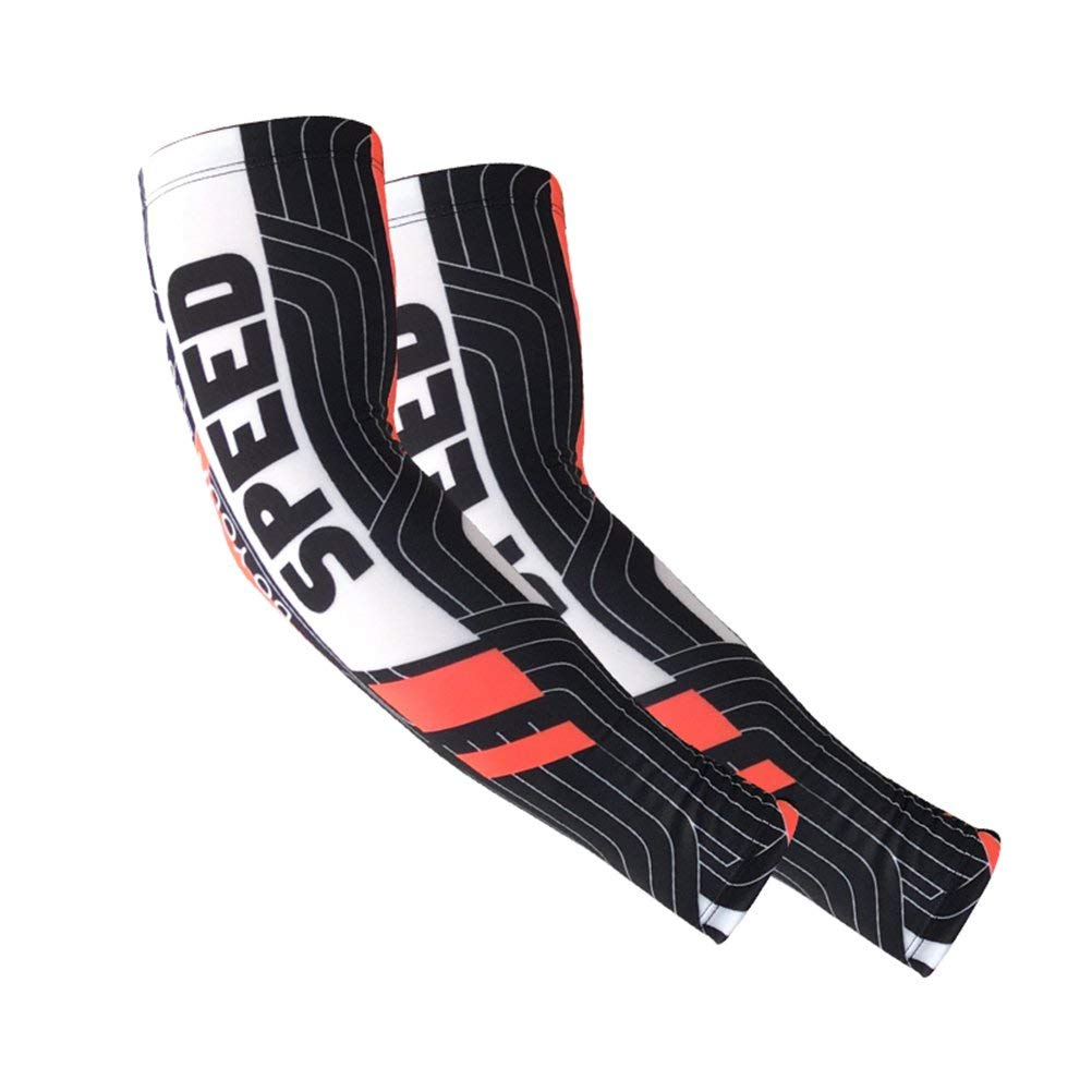 6a1e897d5a Get Quotations · AOXIANG Sports Compression Arm Sleeves -Arm UV/Sun  Protection Cooling Base Layer Pain Relief