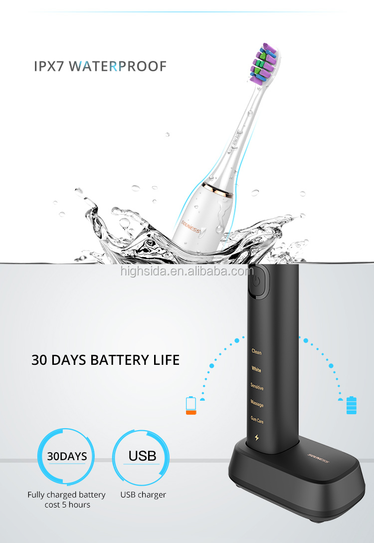 Factory Pirce SN903 Waterproof Electric Sonic Toothbrush