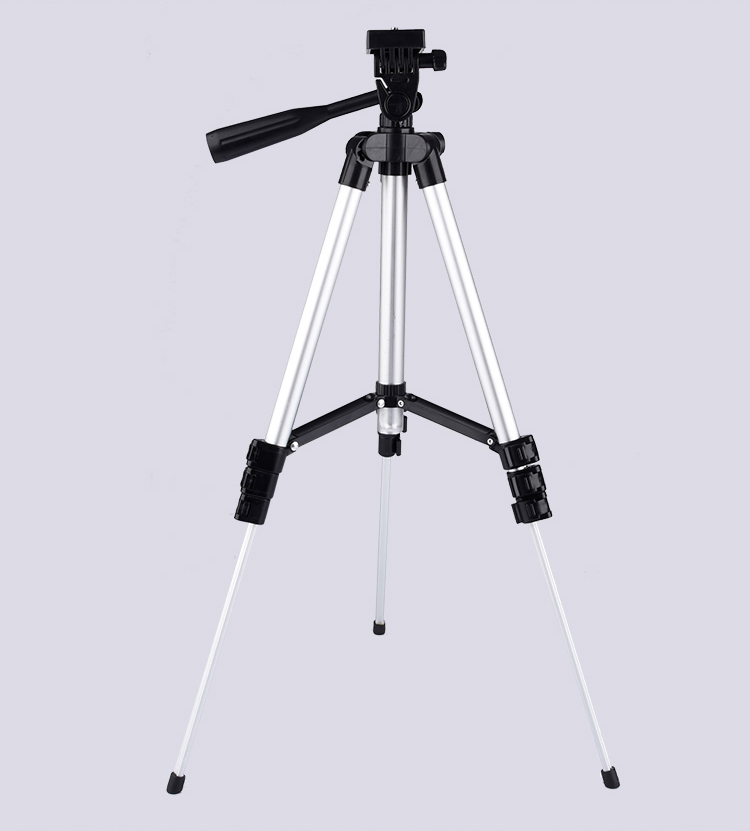 3110 Mobile Stand 4 Section Camera Tripod for Camera Mobile
