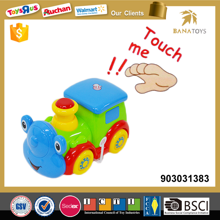 Battery operated mini toy train for kids