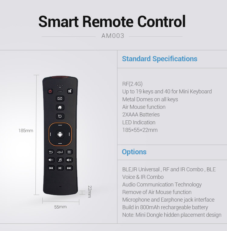 Hoge Kwaliteit 2.4G IR TV afstandsbediening/fly air mouse keyboard/bluetooth air flying mouse