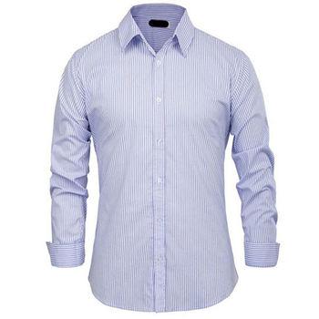0f4ba40dcc Striped Office Uniform Long Sleeve Formal Dress Work Shirt - Buy ...