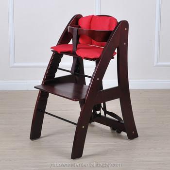 hotsale baby wooden High chair Kids feeding Chair wholesale & Hotsale Baby Wooden High Chair Kids Feeding Chair Wholesale ...
