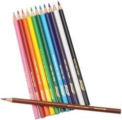 Bulk Buy: Prang Prang Thick Core Colored Pencil Set 12/Pkg (3-Pack)