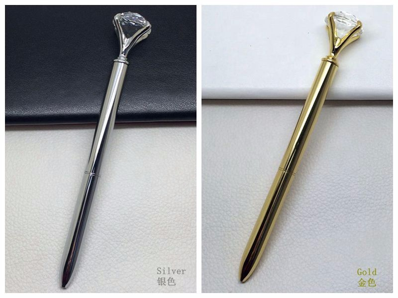 Big diamond pen with crystal ball pen for gift promotion&wedding gifts