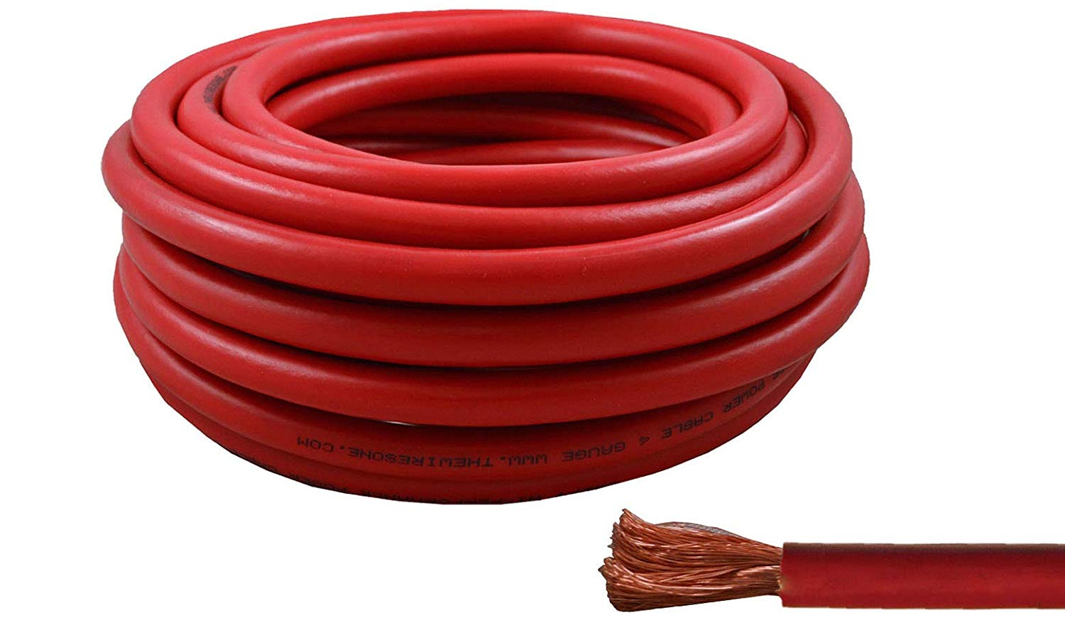 Cheap 12 Gauge Power Cable Find Deals On Line Electrical Wire 4gauge For Usa View White Copper Get Quotations 4 25 Feet High Performance Flexible Amplifier Awg Red