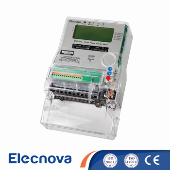 DTSF1945 lcd display ac three phase 4 wire smart energy meter modbus