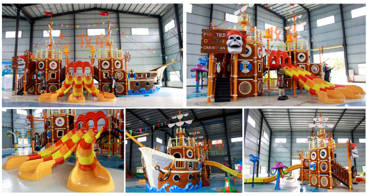 Hot Sales Summer Adult Toys Kids Water Slide Water Theme Park Games