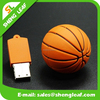 fashion ball shaped design rubber cover usb for gifts