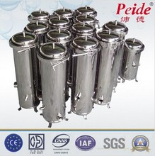 Stainless steel drinking water filter housings
