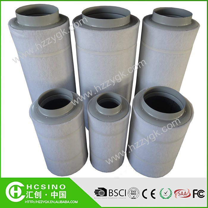 Hydroponic Greenhouse Round Hepa Activated Carbon Air Charcoal ...