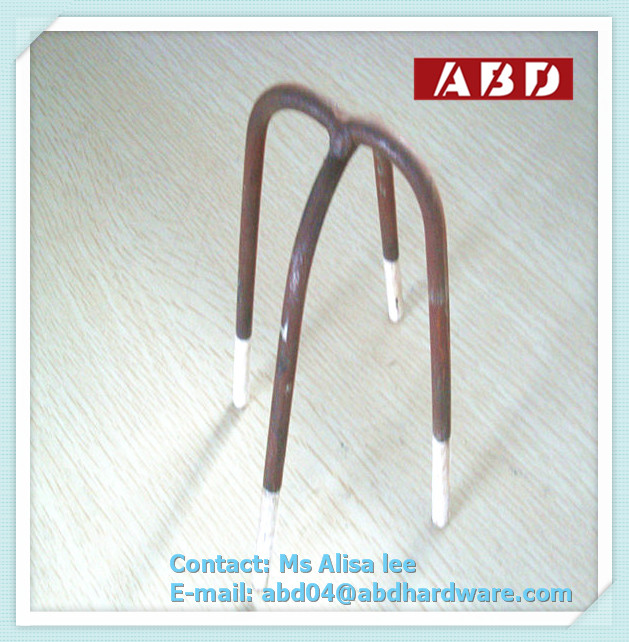 Plastic Coated Leg Tips Concrete Steel Wire Bar Chairs