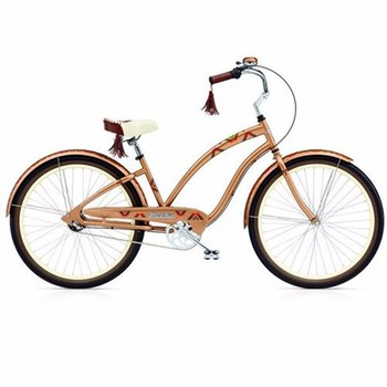 Orange Beach Bikes 26 Girls Beach Cruiser Bicycle 26 Inch Alloy