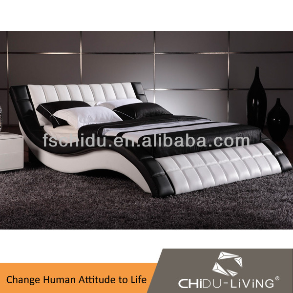 2014 latest design sex bedWave shape double leather bed View sex bed Chidu Bed Product Details from Foshan Shunde Longjiang Chidu Furniture Factory on ... & 2014 latest design sex bedWave shape double leather bed View sex ...