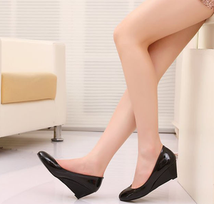 High heel shoes new wedge sandals fashion women dress