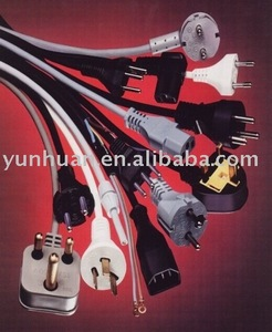 Lamp cable H05RNF H07RNF VDE Europe Power cable assembly