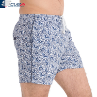 OEM Factory Wholesale Customized Men Board Shorts Swim Trunks Beach Wear shorts with inner mesh lining and drawstring