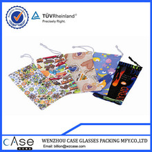 Fashion or cute cartoon glasses Bags with strings
