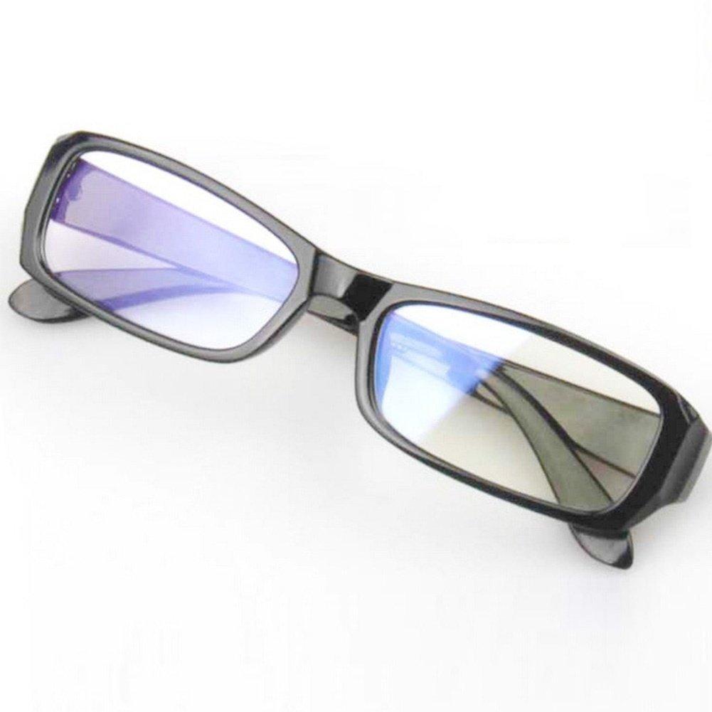 d7542bd8da Get Quotations · Bleiou Practical PC TV Resistant Eye Strain Protection  Glasses Vision Radiation Protection Glasses Anti Fatigue Unisex