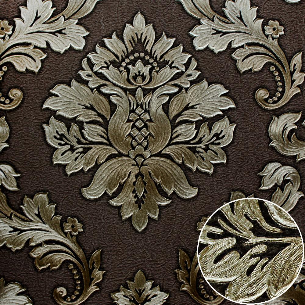 아칸서스 잎 장식 디자인 장식 비닐 핫 섹스 배경 화면이 벽-벽지 ...